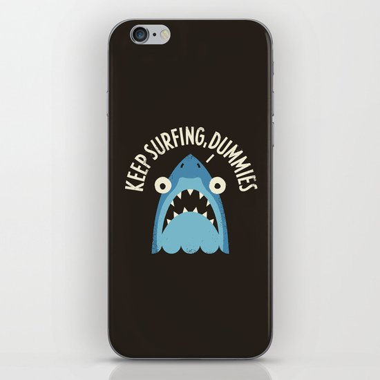Great White Snark iPhone & iPod Skin