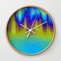 The Mystery Pool Wall Clock