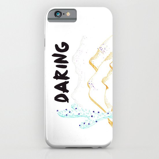 Daring. iPhone & iPod Case
