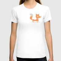 Fox Womens Fitted Tee White SMALL