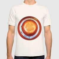 dot Mens Fitted Tee Natural SMALL
