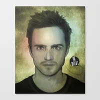 Jesse Pinkman, Yo Bitch! Canvas Print