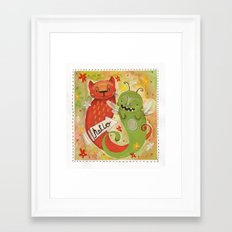 Beasts Framed Art Print