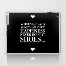 happiness black Laptop & iPad Skin