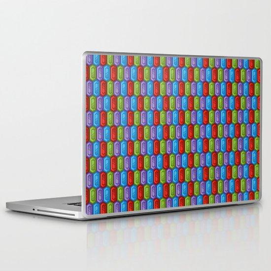Repeat Rupee Laptop & iPad Skin
