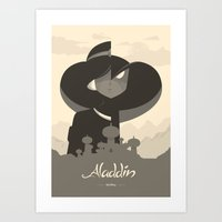 Aladdin Art Print