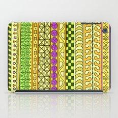 Yzor pattern 011 Yellow Things iPad Case