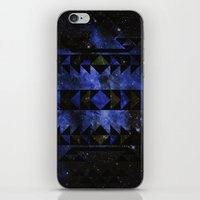 Blue Stellar Dust iPhone & iPod Skin
