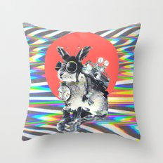 Time Traveller Throw Pillow