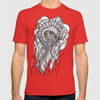 Jelly Jelly Jelly Mens Fitted Tee Red SMALL