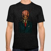 Mr. Kidface (Bug) Mens Fitted Tee Tri-Black SMALL