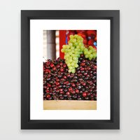 Farmers Market Framed Art Print