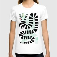 Sandworm Womens Fitted Tee White SMALL