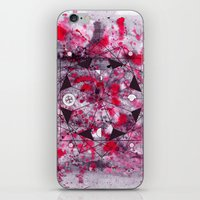 Midnight Mandala iPhone & iPod Skin