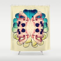 The Human Virus Shower Curtain
