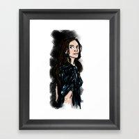 Caroline Framed Art Print