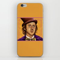 The Wilder Wonka iPhone & iPod Skin