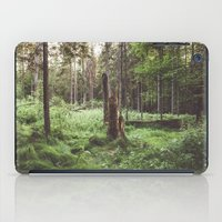 Primary forest iPad Case