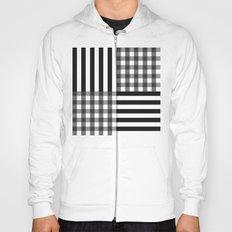 monochrome pattern  Hoody