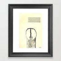 spilled Framed Art Print