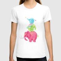 elephants T-shirts featuring Elephants by Freeminds