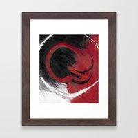 Smolder Framed Art Print