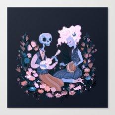 Rhythm of Grief Canvas Print