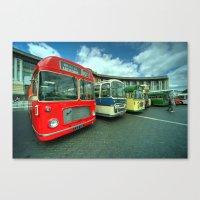 Bristol Line Up  Canvas Print