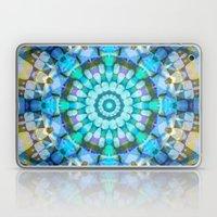 Into The Blue Kaleidosco… Laptop & iPad Skin
