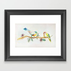 When Love Was Spring Framed Art Print