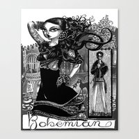 Bohemian (2012) Canvas Print