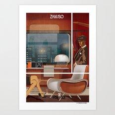026_archidesign_marco zanuso Art Print