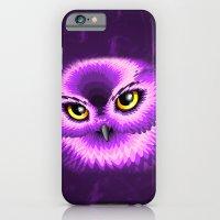 Pink Owl Eyes iPhone 6 Slim Case