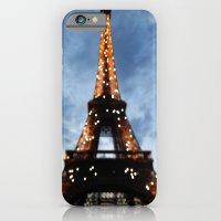 iPhone & iPod Case featuring Tour Eiffel  by Lucrezia Semenzato