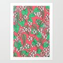 Bold Tropical Art Print