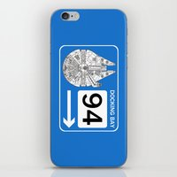 Docking Bay 94 iPhone & iPod Skin