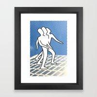 A Melancholy Wind Framed Art Print