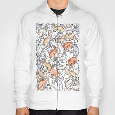 Colour Bunny Pattern Hoody