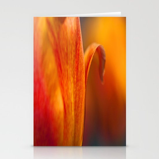 Tulip Bends Stationery Card