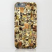 Alphabet iPhone 6 Slim Case