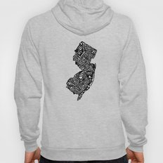 Typographic New Jersey Hoody