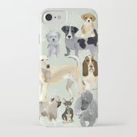 dogs iPhone & iPod Cases featuring Dogs by Augustwren