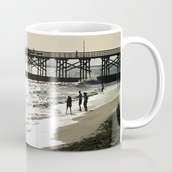 The Day's End at Seal Beach Mug