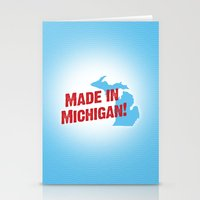 Made in Michigan Stationery Cards