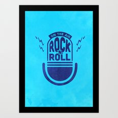 Rock'N'Roll Art Print