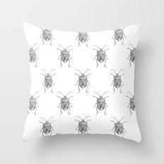 Pentatomidae Throw Pillow