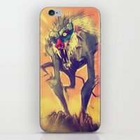 Rafiki´s Rage iPhone & iPod Skin