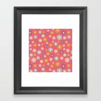 Butterfly Garden - Daisi… Framed Art Print