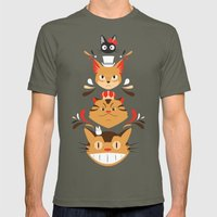 Studio Kitty Mens Fitted Tee Lieutenant SMALL