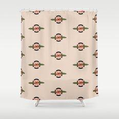 LOVE  Russian Autumn Shower Curtain